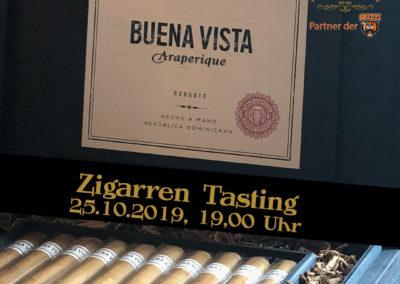 Zigarren Tasting insta und story